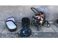 Large selection of baby goods (pram, buggie, travel system, cot, car seat, bouncer) venicci