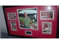 Rare signed Dennis bergkamp testimonial montage.