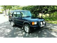 2001 LAND ROVER DISCOVERY II 4.0 V8i ES AUTO BLUE *LPG* 7 SEATER FULL M.O.T FSH NICE 4X4