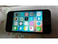 Apple Iphone 4s black 8 gig on vodaphone