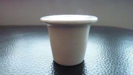 Vintage Ceramic Inkwell Liner - Unused - Excellent Condition