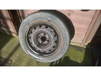 206 steel wheels and tyres