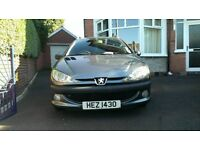 ESTATE CAR WITH TOW BAR £750 ono - Peugeot 2006 80,000 miles. MOT February 2017.