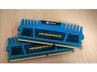 8 GB (2x4gb) Corsair Vengeance DDR3 Ram
