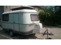 Eriba caravan for sale. Easy towing.