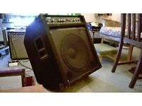 White Rose Bass Amplifier.