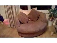 cuddle / love chair