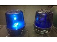 Showtec Big Police Light. SET OF 4. disco light/nightclub/theatre/stage/band