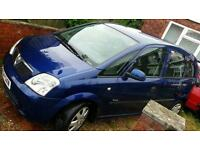 54 plate Vauxhall Meriva, 1.4 petrol, Cheap Spacious Family Car, New Mot