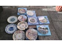 11 collectable plates