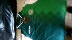 New hibs home top not worn size junior xl