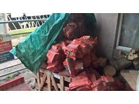 Nets of Hardwood Logs