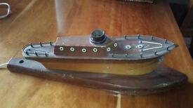 Lovely Vintage Ship Lamp for Refurb