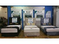 FOR SALE: Mattress+Bed+Headboard ONLY £199 @ DQF