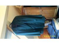 "Plain Pure New Wool Jacket By Van Kollem Of Germany Size 44"""