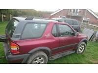 Vauxhall frontera sport breaking or spares repairs