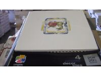 Ceramic Tiles - 55 Boxes of 4