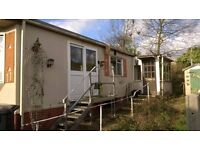 Mobile Home/Caravan metals steps and platform with handrail