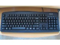 NEW Microsoft Wired Keyboard and Mouse 200 for Business- UK layout