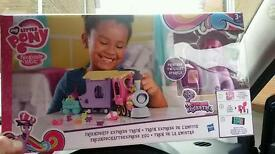 My little pony friendship express train toy