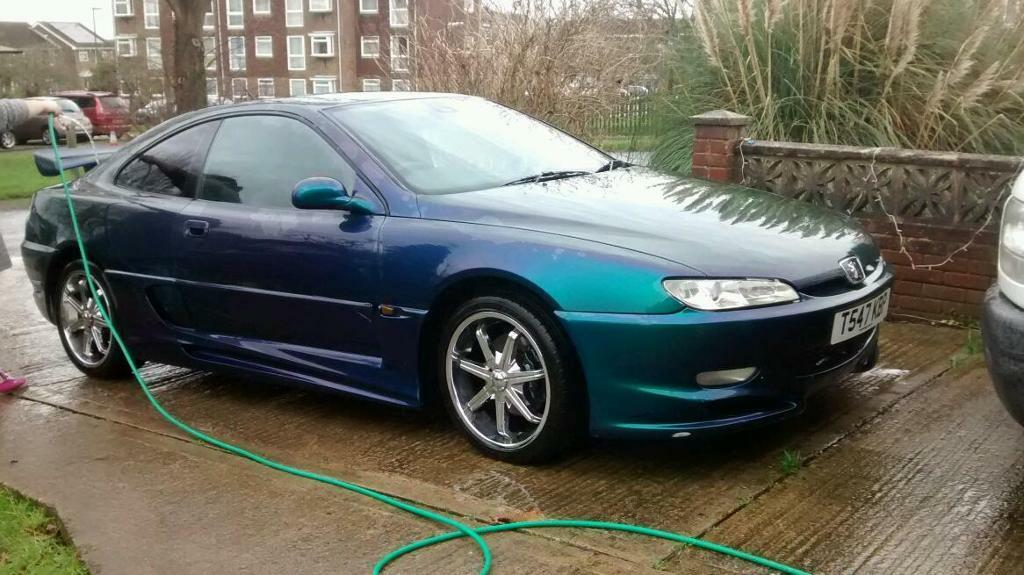 peugeot 406 coupe 89k v6 custom paint modified drift px swap in steyning west sussex. Black Bedroom Furniture Sets. Home Design Ideas