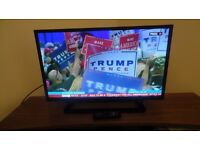 """TOSHIBA 32"""" HD LED TV WITH BUILT-IN DVD PLAYER AND FREEVIEW"""
