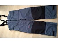 Greys Apollo Waterproof and Windproof Bib n Brace Fishing Trousers (XL)