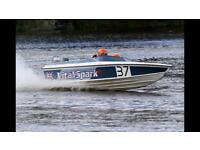 Phantom 16 speed/race boat 85hp Yamaha