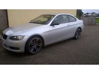 Immaculate BMW 3 Series Coupe Silver 07, Diesel 2L, 87k - Mint!! Inc Brand New Alloys/Tyres!!