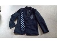 Sir john Leman High School blazer and tie
