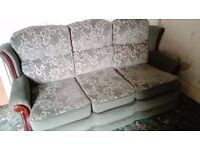 ***FREE*** 3 seater sofa and arm chair
