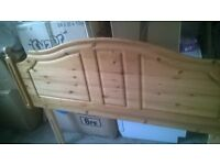 Solid pine headboard king size