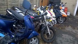 Scrap Mopeds, Motorcycles and Scooters for spares available