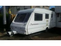 Abbey Expression 4 berth caravan touring