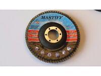 Flap discs 115 x 22 , 4,5' Grit 60, 80, 120 disc sander, abrasive angle grinder, grinding wheel