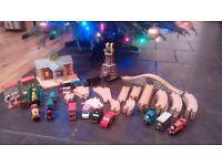 Brio and Brio compatible train tracks, trains and accesories