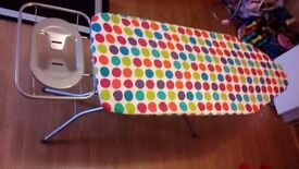 Family Wide Minky Ironing Board Adjustable Height