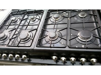 RANGEMASTER GAS COOKER FLAVIO MILANO TRIPLE OVENS...FREE DELIVERY