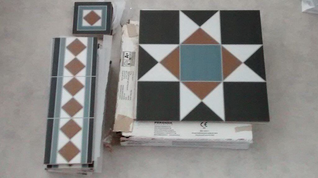 Grosvenor Tiles From Topps Perfect New Victorian Style Patterned
