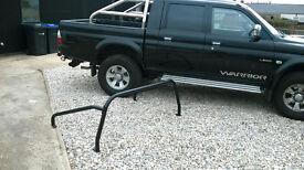 Mitsubishi L200 Steel Roll Bars (Black)
