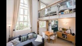 Stylish furnished 1 bed 1.5 bath duplex in Holloway - art deco building concierge and gym