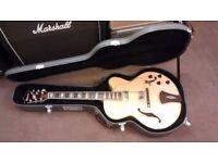 Ibanez artcore AF105NT hollowbody guitar w/ OHSC