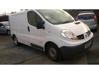 Renault Trafic 2.0 dci, spares, repair (noisy gearbox)