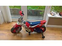 kids battery powered motorbike