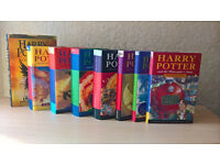 A Complete Set of original Harry Potter Books, [1- 8 Hardcover Books]