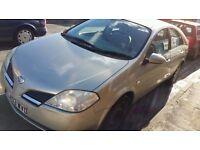 Nissan PRIMERA 1.8 petrol 5 doors long mot low mileage only £650