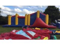 Airquee Obstacle Course Bouncy Castle