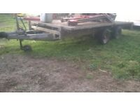 trailer ifor Williams 12' flatbed