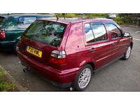 A STUNNING EXAMPLE VOLKSWAGEN GOLF VR6 2.8 V6 LOTS OF WORK CARRIED OUT FULL REBUILT