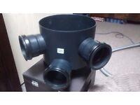 Flopast Inspection chamber base 300mm (brand new unused)